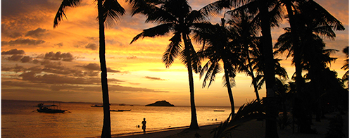 Malapascua offers volunteer picture postcard sunsets