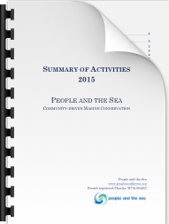 People and the Sea – Progress Update (2015 Activities)