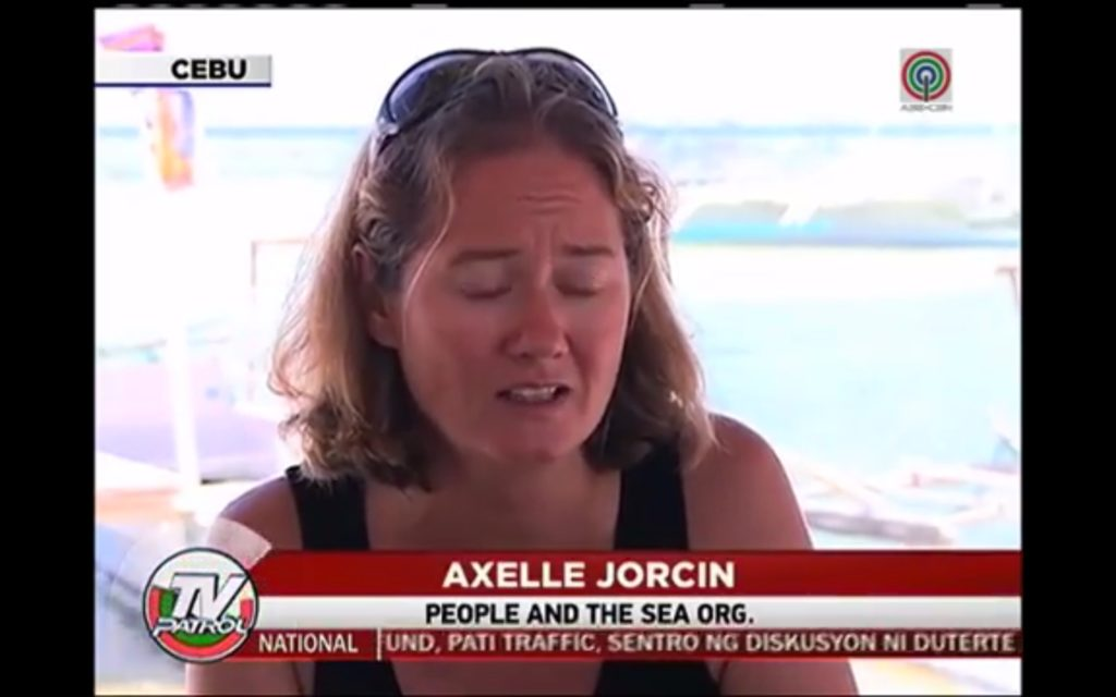 People and the Sea on ABS-CBN News Report