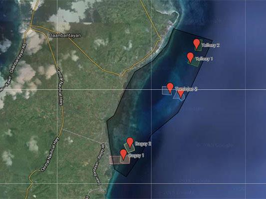 MPA creation proposals in Daanbantayan